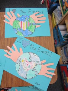ı love the earth day crafts