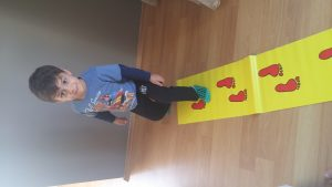 gait training events in infants