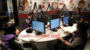 radio channel staff