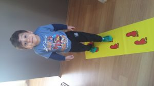 gait training activities for toddlers