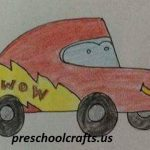 5-easy-drawing-car-mc queen-for-primary school