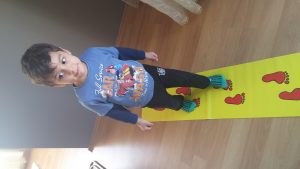 gait training activities for baby