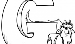 Alphabet-G-Coloring-pages-Sheet