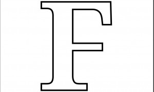 Alphabet-Letter-f-Colouring