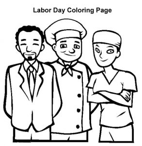 İnternational labor day coloring pages