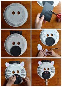Animal zebra crafts for preschool
