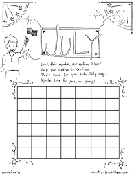 Coloring pages for the july1