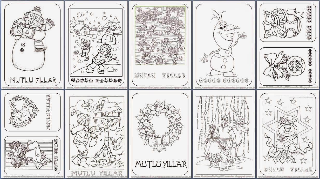 Coloring pages for the month of the year preschool crafts for Craft of the month