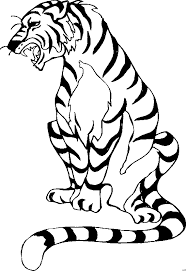 Download printable Tiger coloring pages ideas for preschool