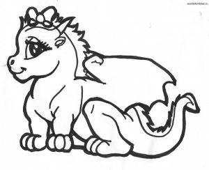 Dragons-coloring-pages