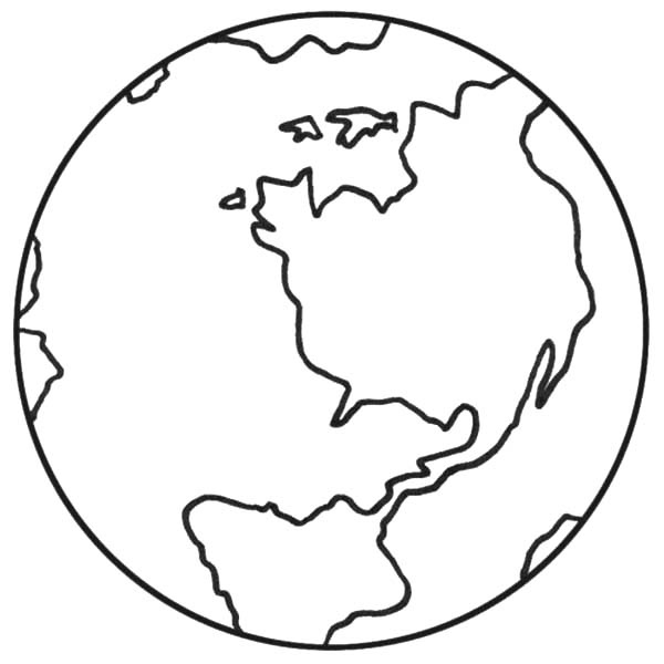 Earth Day Coloring Pages - Preschool and Kindergarten