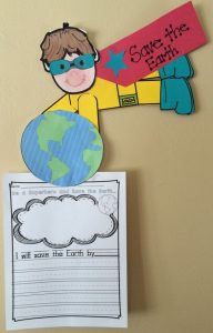 Earth days bulletin board