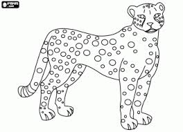 Free printable jaguar coloring pages for kids
