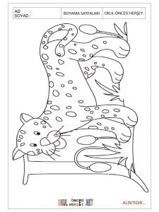 Free printable jaguar coloring pages for kindergarten