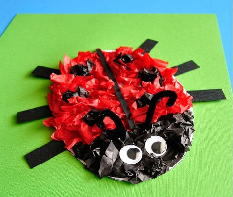 Ladybug Crafts Idea For Kids Preschool And Kindergarten