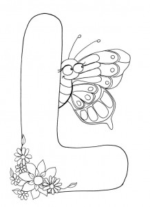 letter l coloring pages preschool and kindergarten