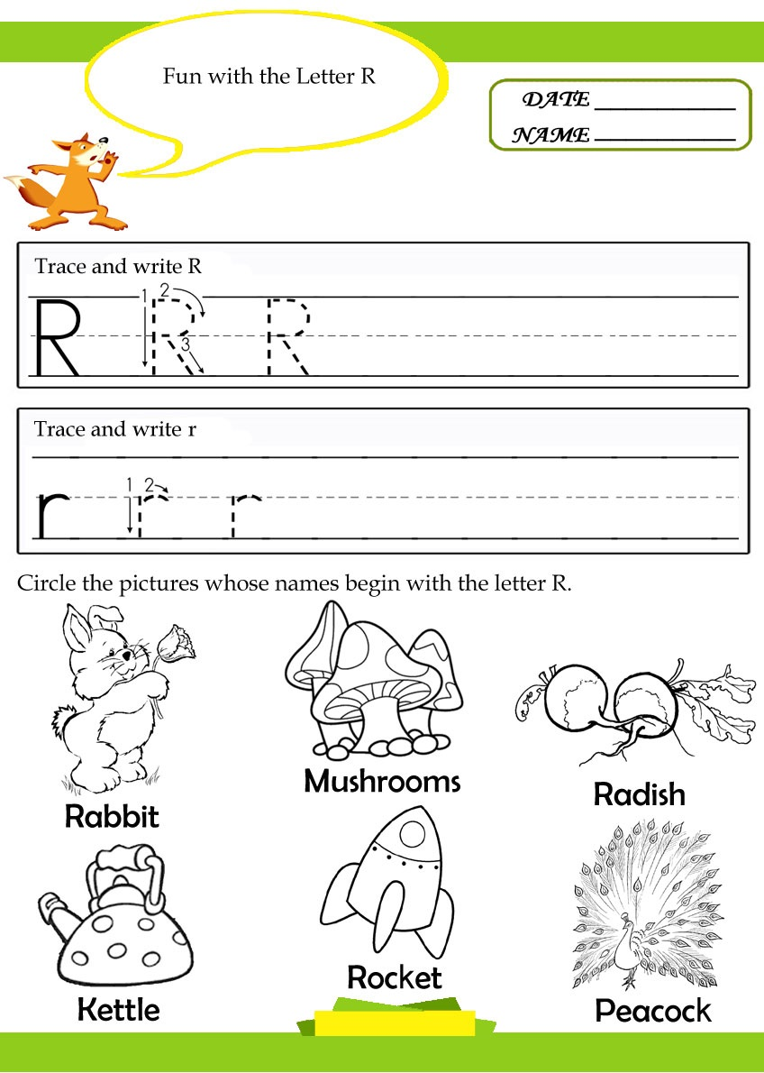 letter r tracing writing worksheet preschool crafts. Black Bedroom Furniture Sets. Home Design Ideas