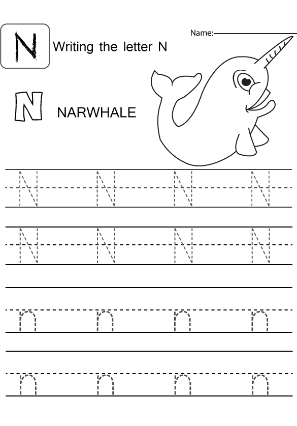 letter nn worksheets for preschool letter best free printable worksheets. Black Bedroom Furniture Sets. Home Design Ideas