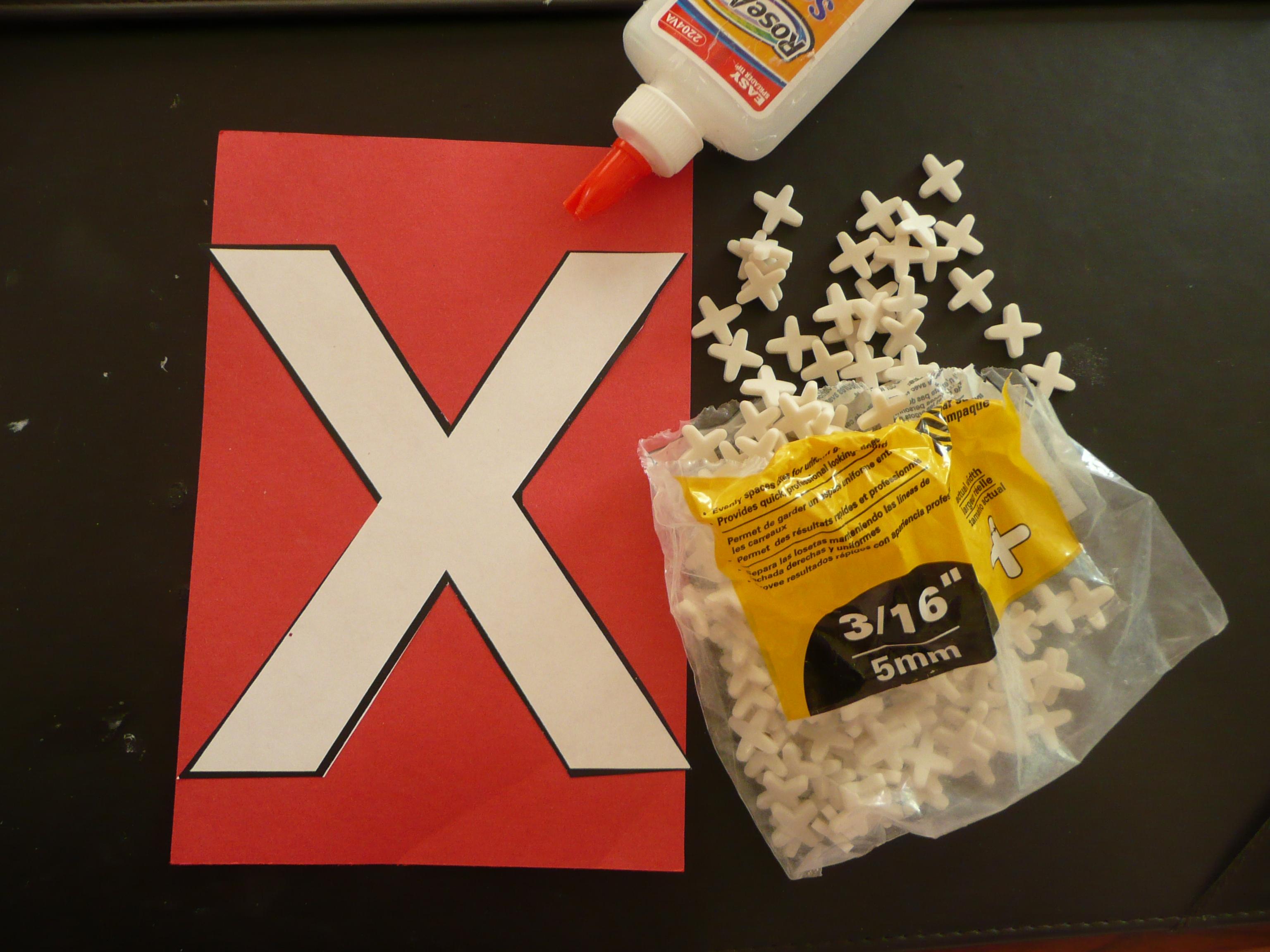 Letter X Crafts For Preschool Letter x crafts...