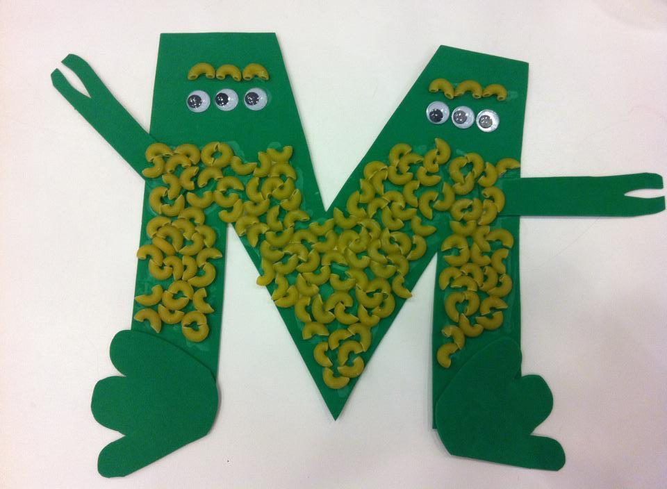 Letter M Crafts