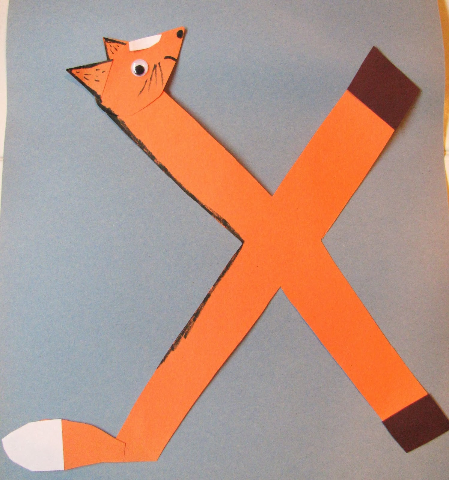 letter x crafts   preschool crafts