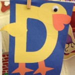 alphabet letter d crafts