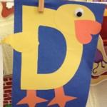 alphabet letter d crafts