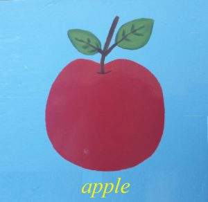 apple picture for kids