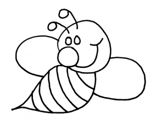 bee-color-worksheet