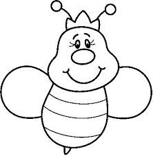 bee coloring pages for preschool - photo#17