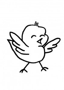 bird coloring pages for children