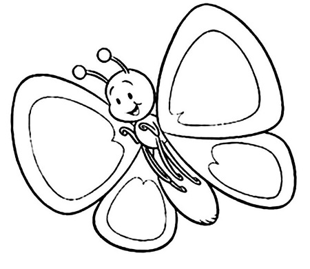 butterfly coloriage 2