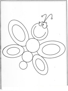 butterfly coloring page 2