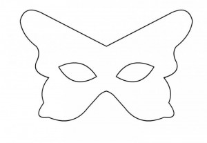 butterfly mask and painting