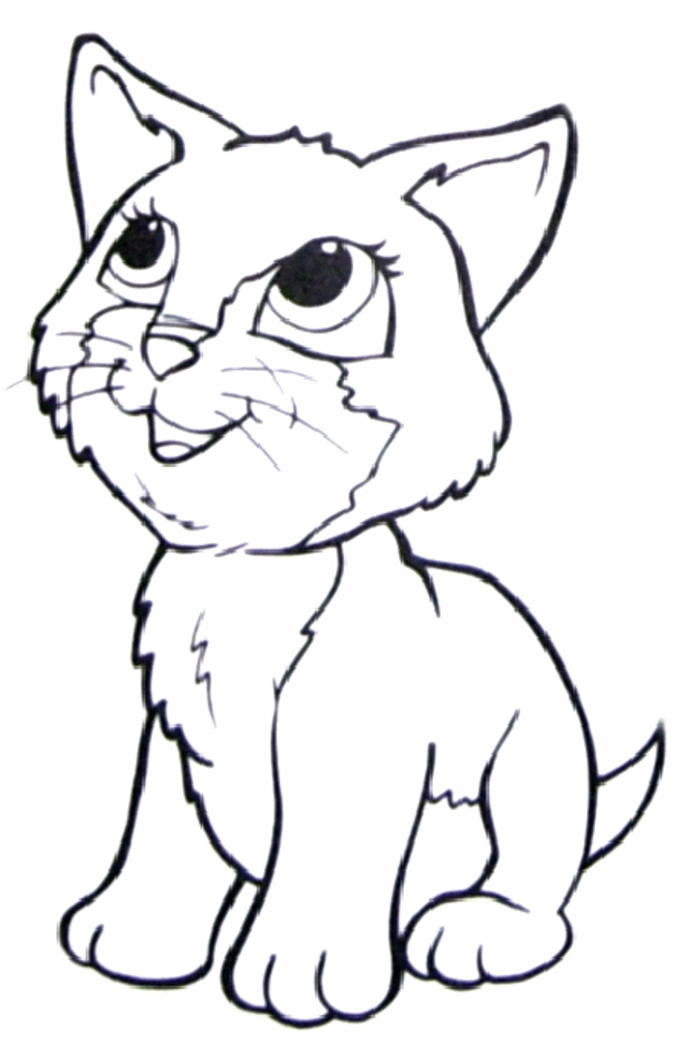 Cat Junior Coloring Page Preschool Crafts Cat Coloring Pages