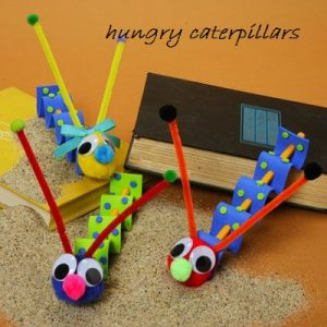 caterpillar craft activity for preschool