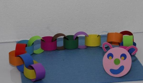 Caterpillar Craft Idea For Preschool