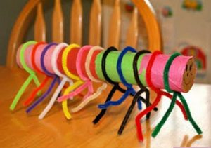 caterpillar-crafts-idea-for-kindergarten