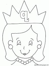 Letter Q Coloring Pages For Kids Preschool and Kindergarten