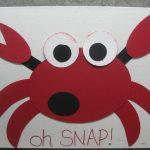 crab craft idea for kids and preschoolers