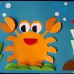 crab craft idea for preschoolers