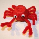crab craft ideas for kindergarten