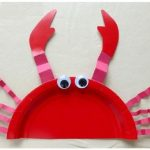 crab-craft-with-paper-plate