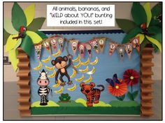 creative animals bulletin board ideas for preschool