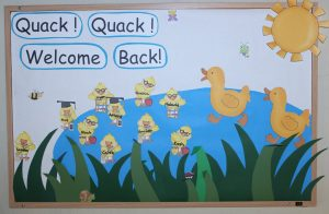 creative animals duck bulletin board ideas for toddler