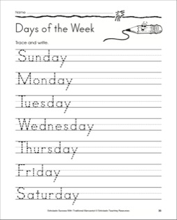math worksheet : days of the week worksheet preschool crafts : Days Of ...