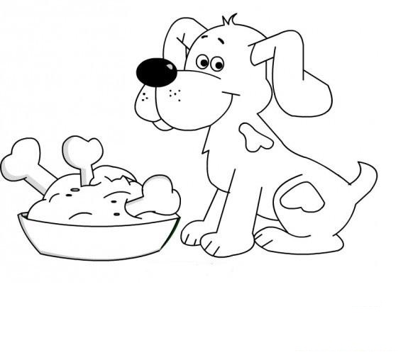 dog coloring pages for preschool 2