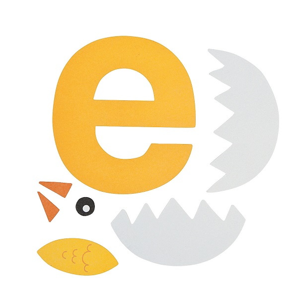E is for egg letter e craft pattern preschool crafts e is for egg letter e craft pattern spiritdancerdesigns Images