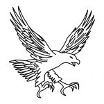 eagle_tattoos_coloring_pages