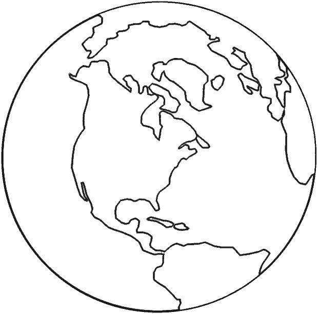 Earth Day Coloring Pages  Preschool and Kindergarten